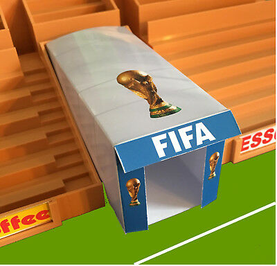 World Cup Players Tunnel for Subbuteo Stadium Grandstand