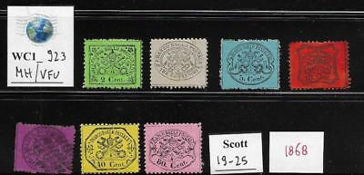 WC1_923 ITALY. STATES: STATO PONTIFICIO. Valuable lot of 1868 stamps. MH/Used