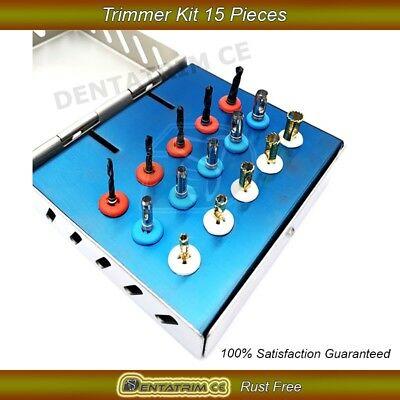 Dental Implant Tissue Punch Trephine Expander Drills Trimmer 15 Pcs Kit CE New
