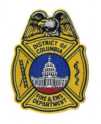 District Of Columbia Washington DC Fire & EMS Department patch V2