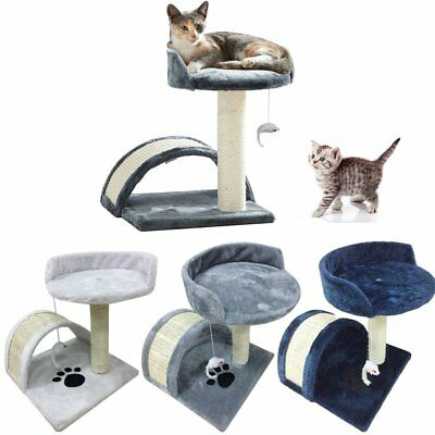 Cat Tree Scratching Post Climbing Activity Centre Sisal Bed Toys Scratcher Tower