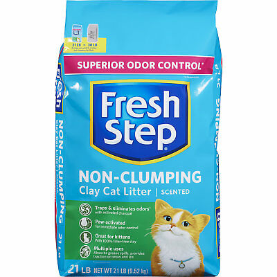 Fresh Step Scented Non Clumping Clay Cat Litter