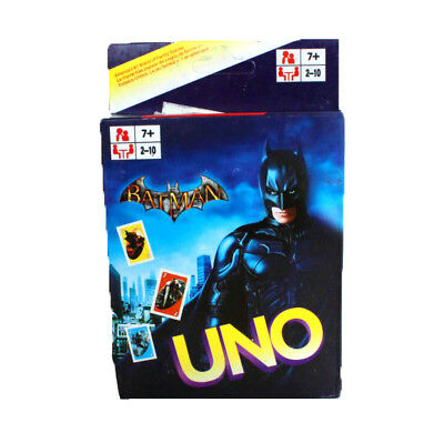 Batman UNO CARDS Family Fun Playing Card Educational Theme Collectible