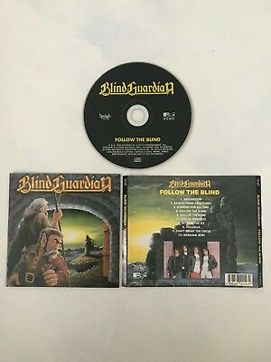 BLIND GUARDIAN - Follow The Blind cd (Rare press Hyedayk 1993) Helloween Avenger