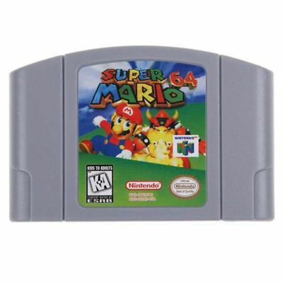 Super Mario 64 - Nintendo 64 Video Game Cartridge for N64 Console US Version