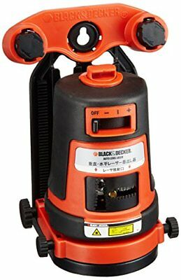 Black & Decker BLACK + DECKER vertical and horizontal laser orange BDL310S