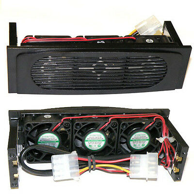 AOC 5.25in Bay HDD CoolerHK-3F HDD ,3 Fans Begie
