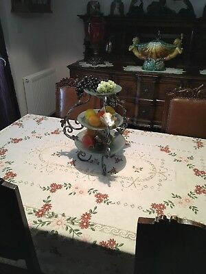 Vintage Oak Table And Chairs Arts And Crafts