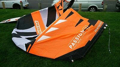 RRD Passion 7m 2018 mk9 kite kitesurfing, hardly used in mint condition