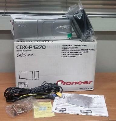 New Pioneer Cdx-P1270 Cd-Changer To 12 Cd Standard Ip-Bus Read Cd, Cd-R, Cd-Rw