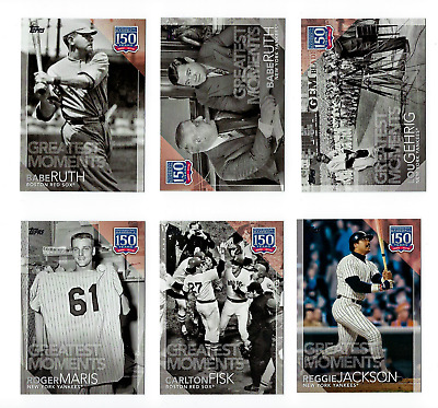 150 Years of Professional Baseball Complete Your Set 2019 Topps Series 1 U Pick