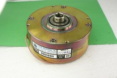 New Placid Industries 800469H Magnetic Brake 24 Vdc