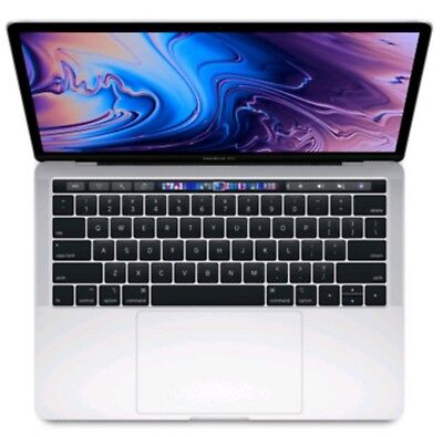 "Apple MacBook Pro 13"" - TOUCH BAR- Intel Core i5 - 2018- SLIVER - WARRANTY"