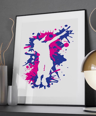 Do the Dab Dance - Quote Poster Print - A6 to A0 - Gaming Xbox PS4 Battle Royale