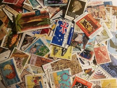 Australia 50 All Different Stamps Australian