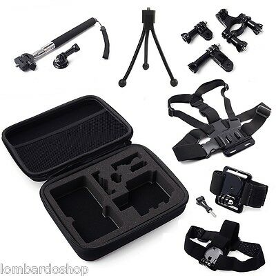 Support Accessories Head Chest Wrist Bag Bike Monopod For Gopro Hero Holders