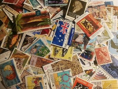 100 All Different Australian Stamps Australia