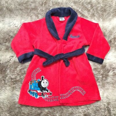 Thomas The Tank Engine Boys Red Dressing Gown 18-24 months.