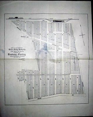 1906 Broadway Flushing Queens NY Original MAP