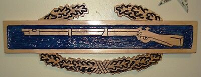 Combat Infantry Badge CIB Carving, 1st 2nd 3rd 4th 82nd 101st 173rd Airborne CAV