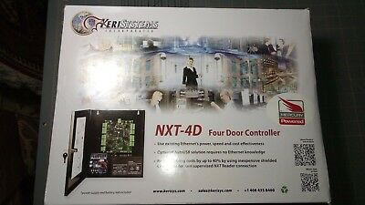 KERI SYSTEMS NXT-4D-MSC 4 DOOR ACCESS CONTROLLER with Mercury Firmware BRAND NEW