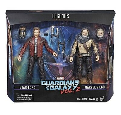 Jouets et jeux M256 Starlord EGO 2pk Guardians of the Galaxy Loose Marvel Legends FIGURE 6 Lot Figurines, statues