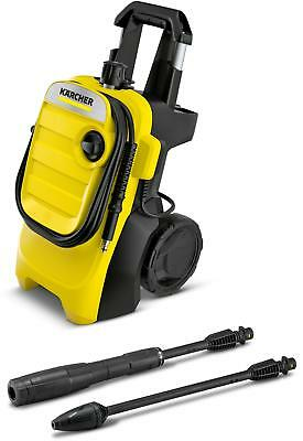 Karcher K 4 Compact Pressure Washer Car Garden Water Cleaner 6m Hose Portable