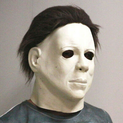 Michael Myers Halloween Maske Latex Horror Cosplay Partei Requisiten