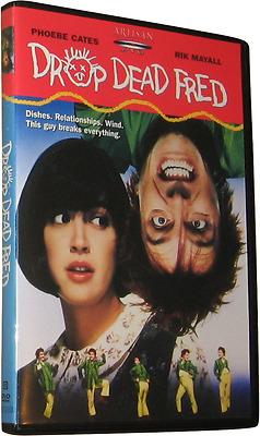 DROP DEAD FRED DVD (1991) - Region 1 USA - Phoebe Cates - Rik Mayall