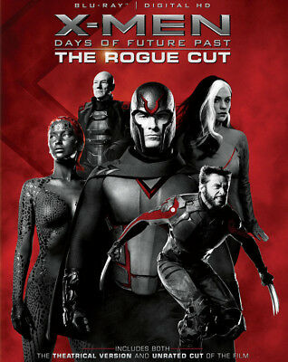 X-Men: Days of Future Past - The Rogue Cut [Blu-ray] [2014]