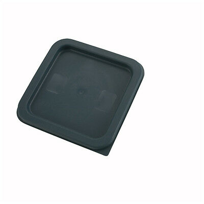 Winco PECC-24, Green Polyethylene Cover For 2- And 4-Quart Square Containers, NS