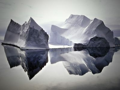 FINE-ART-PRINT-Iceberg-Reflections-Poster-Paper-or-Canvas-for-home-decor