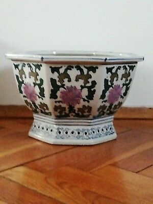 Chinese planter jardiniere pot