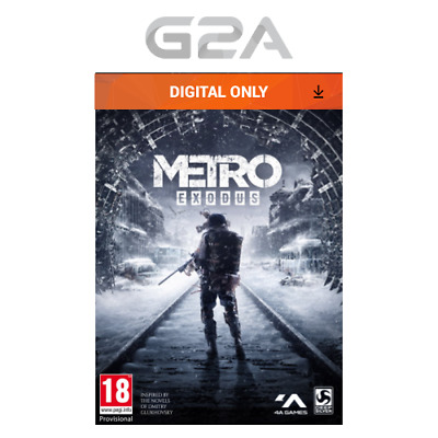 Metro Exodus Key [Action PC Game] Epic Games Digital Download Code UK/EU