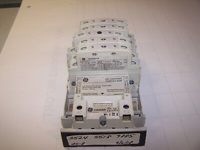 Ge Cr460B Mechanically Held Lighting Contactor Coil 277 Vac Cr460Xp32