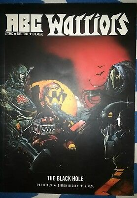 Abc Warriors. 2000Ad. The Black Hole. Graphic Novel. Pat Mills. Vgc.