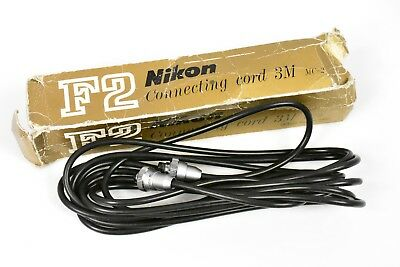 Boxed! Nikon Mc-2 3M Power Cable Conects Ma-4 Ma-2 To Md-1 Md-2 Md-11 Md-12