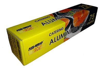 Strong Aluminium Kitchen Catering Foil For Food Use Baking Oven Wrap 300mm X 75m