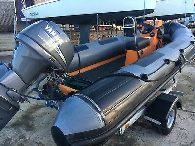 Ribcraft 4.8m RIB with Yamaha 40hp 4/stroke outboard engine