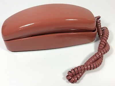 VINTAGE ATT TRIMLINE 400 TELEPHONE PRINCESS Wine Color Works Push Button