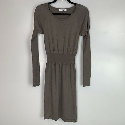68a7398f63 VIKTOR & ROLF Women's Long Sleeve Dress Wool Silk Blend Size S ...