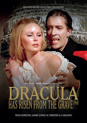 Dracula Has Risen From the Grave 1968 Hammer horror movie magazine