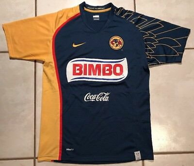 a6341e744 Rare Vintage NIKE Club America Mexico 2007 2008 Away Jersey Men s Small