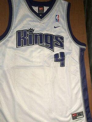 4151d49f9a5 CHRIS WEBBER SACRAMENTO Kings NBA BASKETBALL JERSEY Reebok SIZE ...