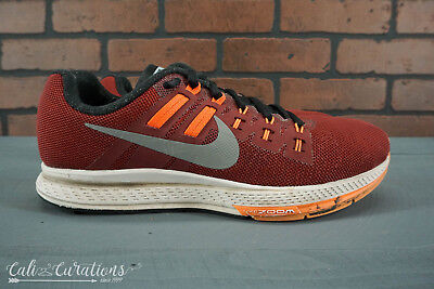 reputable site 51a4c 709b8 VGC! NIKE ZOOM Structure 19 Mens Size 8 NO INSOLES Red/Black 806578-600