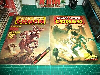 The Savage Sword of Conan - 1977 - Run from #1 Onward - Job Lot / Collection 47