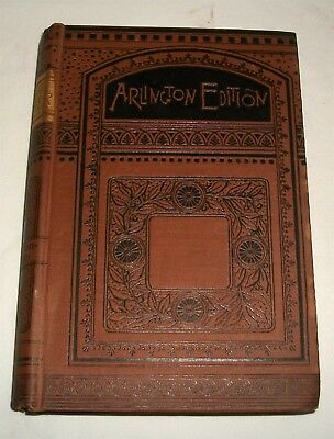 Poems by John Greenleaf Whittier Hurst & Co Publishers Arlington Edition Antique