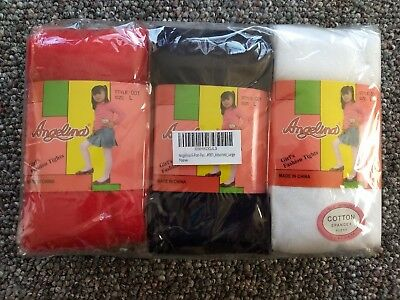 Girls Tights Size Large 7-10 years old. Angelina Brand