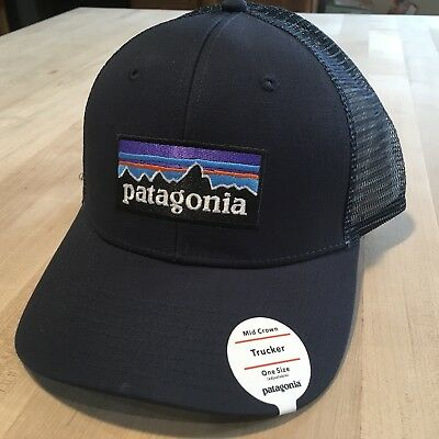 079bac77cd0 PATAGONIA LINE LOGO Badge Lopro Trucker Hat New With Tags - Shadow ...
