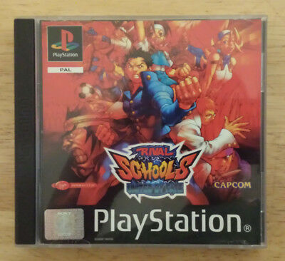 Rival Schools United by Fate (PS1 PS2 PAL) Rare &100% Tested & Working VGC+